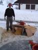 Arbeitseinsatz Februar 2005